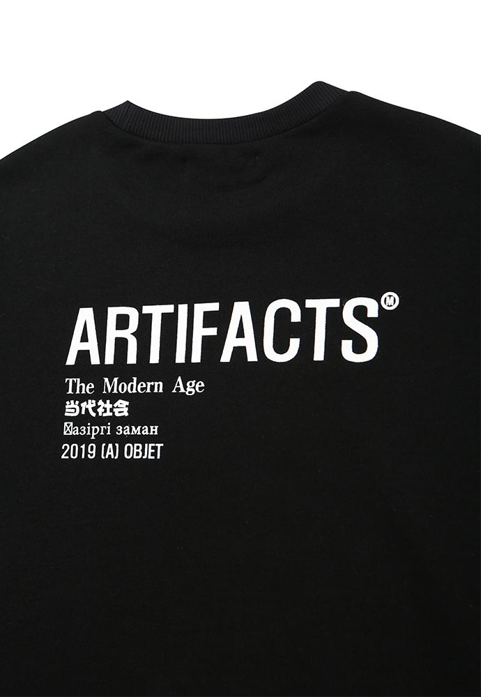 아티팩츠(ARTIFACTS) ARTIFACTS Base Logo Sweat_ Black