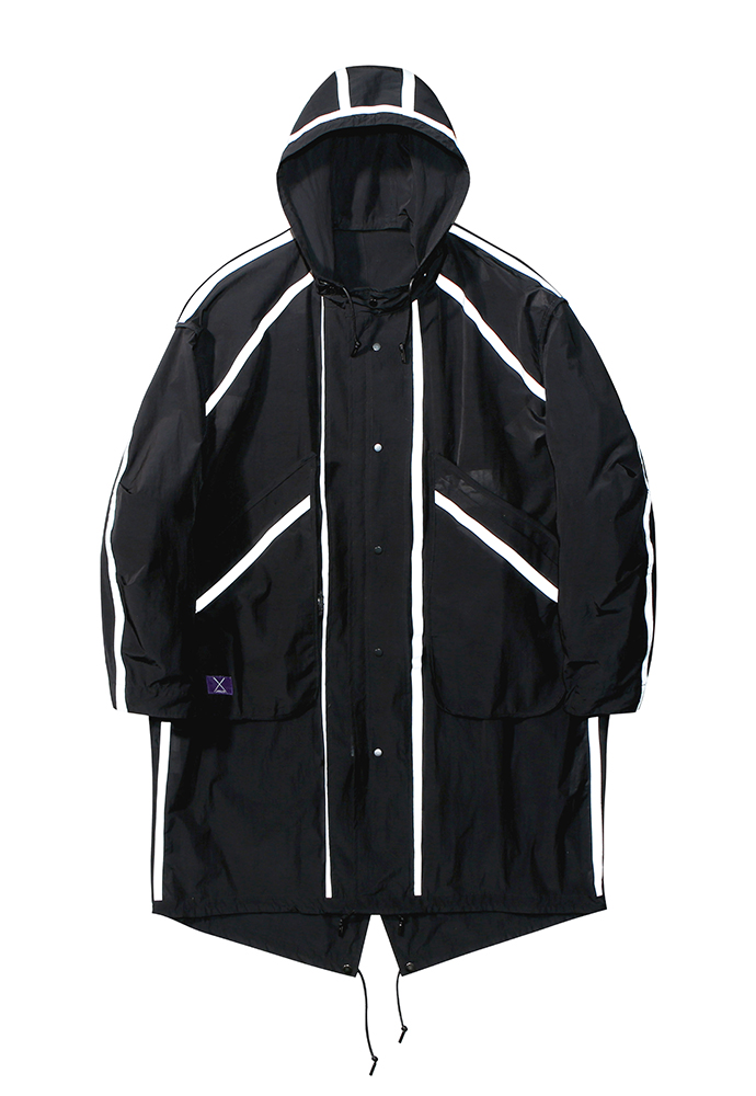 아티팩츠(ARTIFACTS) Reversible Waterproof FISHTAIL SHIELD_ Black